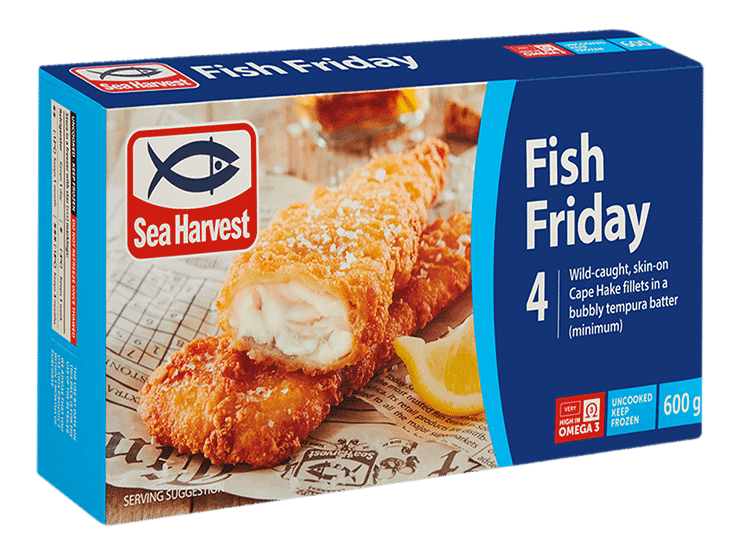 sea harvest hake fish product