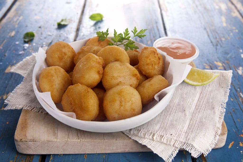 Dusted-fish-nuggets-nuggets