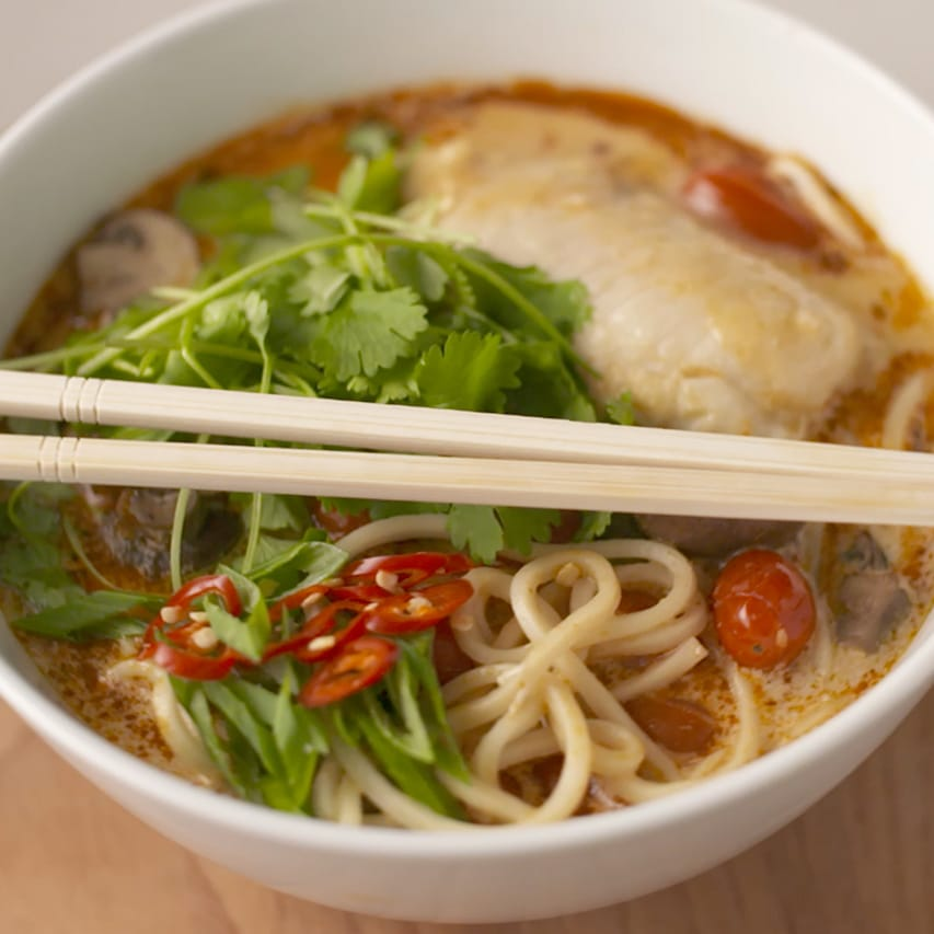 Easy-Tom-Yum-Hake-Noodle-Soup