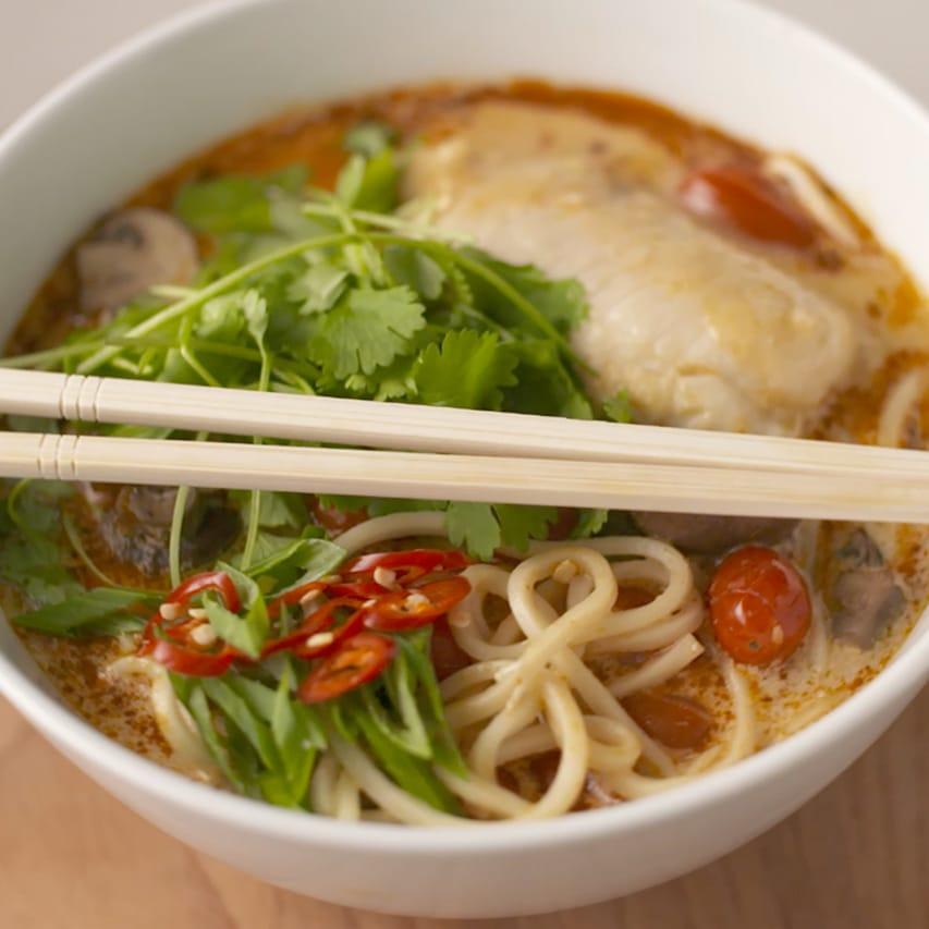 Easy-Tom-Yum-Hake-Noodle-Soup