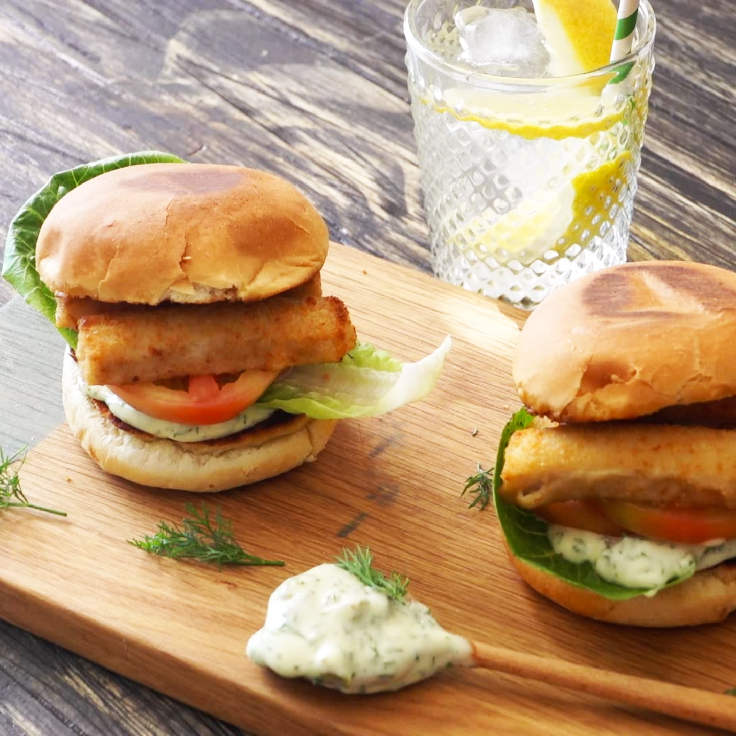 Fish Finger Sliders
