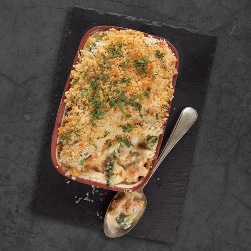 Haddock-Mac-and-Cheese-with-cauliflower-and-broccoli