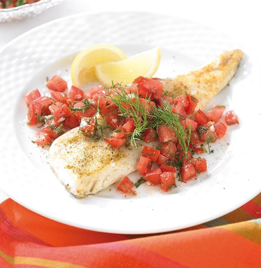 Pan-Fried-Hake-with-a-Tomato-and-Dill-Salsa